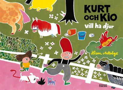 Kurt och Kio vill ha djur (e-bok) av Lisen Adbå