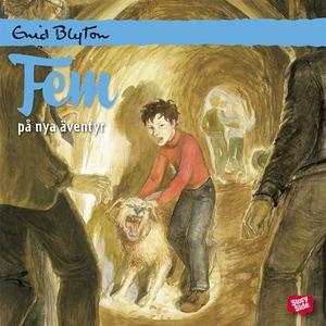 Fem på nya äventyr (ljudbok) av Enid Blyton