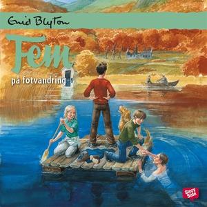 Fem på fotvandring (ljudbok) av Enid Blyton
