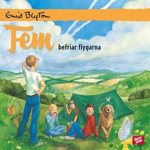 Fem befriar flygarna (ljudbok) av Enid Blyton