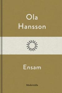 Ensam (e-bok) av Ola Hansson