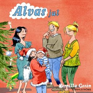 Alva 9 - Alvas jul (ljudbok) av Pernilla Gesén