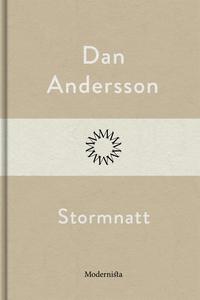 Stormnatt (e-bok) av Dan Andersson