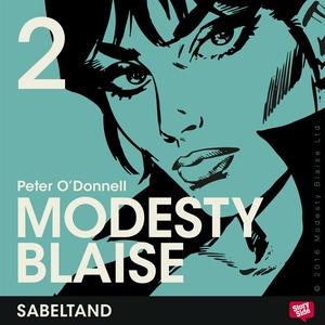 Sabeltand (ljudbok) av Peter O'Donnell