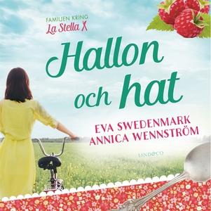 Hallon och hat (ljudbok) av Annica Wennström, E