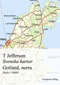 Svenska kartor: Gotland, norra delen