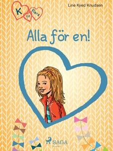 K för Klara 5 - Alla för en (e-bok) av Line Kye