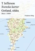 Svenska kartor: Gotland, södra delen