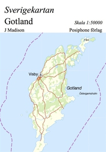 Sverigekartan, Gotland (e-bok) av J Madison