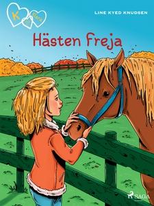 K för Klara 12 - Hästen Freja (e-bok) av Line K