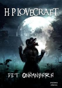 Det onämnbara (e-bok) av H. P. Lovecraft