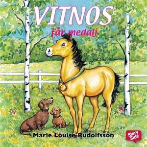 Vitnos får medalj (ljudbok) av Marie Louise Rud