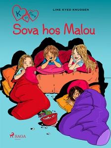 K för Klara 4 - Sova hos Malou (e-bok) av Line