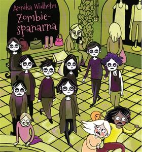 Zombiespanarna (ljudbok) av Annika Widholm