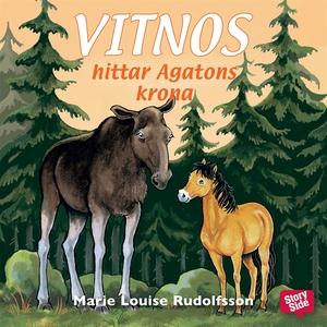 Vitnos hittar Agatons krona (ljudbok) av Marie
