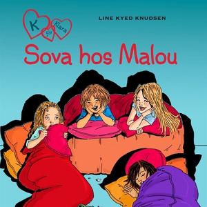 K för Klara 4 - Sova hos Malou (ljudbok) av Lin