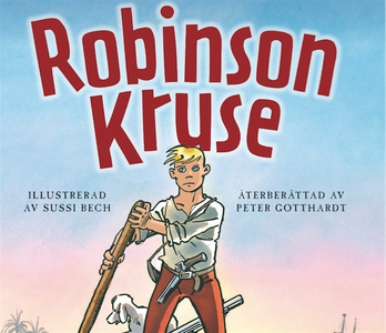 Robinson Kruse (ljudbok) av Daniel Defoe, Peter