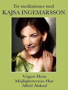 3 meditationer med Kajsa Ingemarsson (ljudbok)