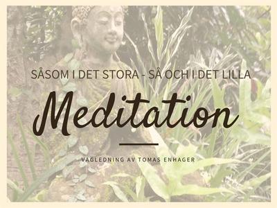Vägledd Meditation av Tomas Enhager (ljudbok) a
