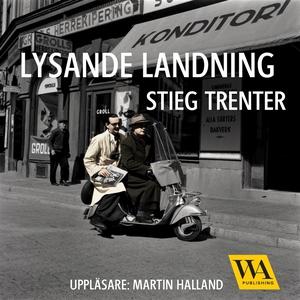 Lysande landning (ljudbok) av Stieg Trenter