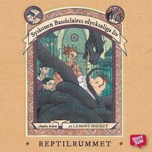 Reptilrummet (ljudbok) av Lemony Snicket