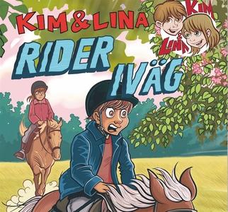 Kim & Lina rider iväg (ljudbok) av Torsten Beng