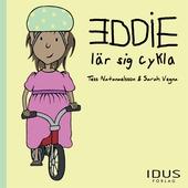Eddie lär sig cykla