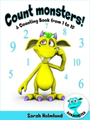 Count monsters! A Counting Book from 1 to 10