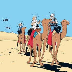 Krabban med guldklorna (ljudbok) av Hergé, Lars