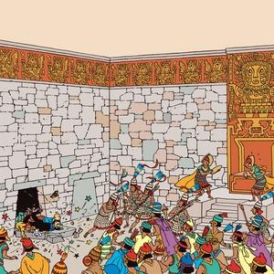 Solens tempel (ljudbok) av Hergé,  Hergé