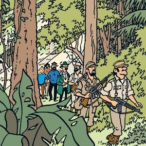 Tintin hos gerillan (ljudbok) av Hergé,  Hergé