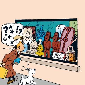 Det sönderslagna örat (ljudbok) av Hergé,  Herg