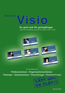 Microsoft Visio - En grön bok för gröngölingar: