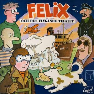 Felix och det flygande tefatet (ljudbok) av Jan