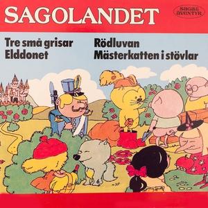 Sagolandet (ljudbok) av Trad,  Trad