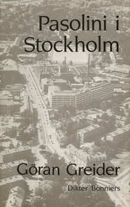 Pasolini i Stockholm : Dikter (e-bok) av Göran