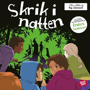 Skrik i natten (ljudbok) av Anders Jacobsson