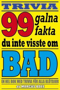 99 galna fakta du inte visste om bad (e-bok) av