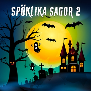 Spöklika sagor 2 (ljudbok) av Karin Hofvander
