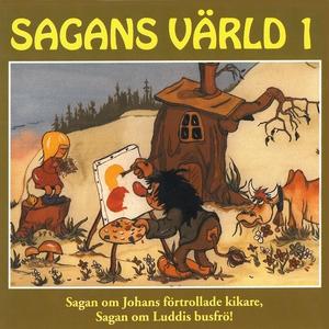 Sagans värld 1 (ljudbok) av Karin Hofvander