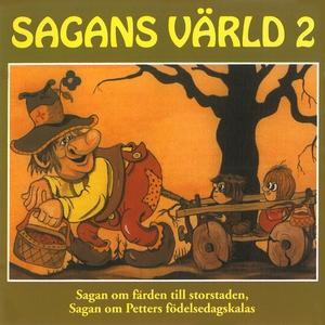 Sagans värld 2 (ljudbok) av Karin Hofvander