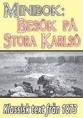 Minibok: Ett besök på Stora Karlsö år 1873