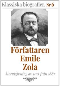Författaren Emile Zola – Återutgivning av text