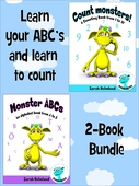 Learn your ABC's and learn to count - 2-Book Bundle