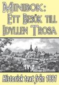 Minibok: Ett besök i idylliska Trosa år 1881 – Återutgivning av historisk text
