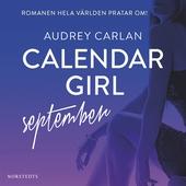 Calendar Girl : September