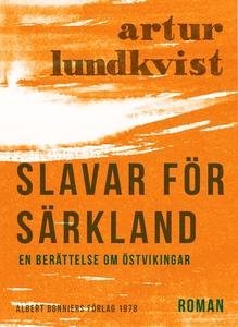 Slavar för Särkland : En berättelse om östvikin