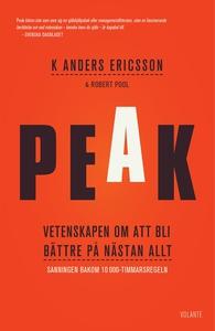 Peak : vetenskapen om att bli bättre på nästan