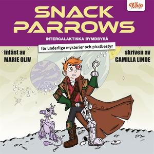 Snack Parrows intergalaktiska rymdbyrå för unde