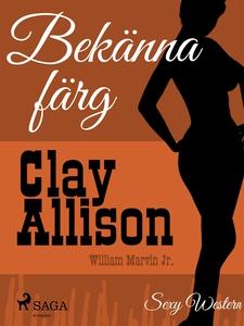 Bekänna färg (e-bok) av Clay Allison, Ingrid Ka